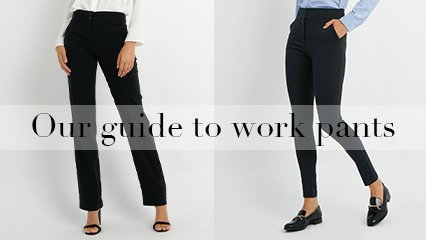 Our Guide to Work Pants